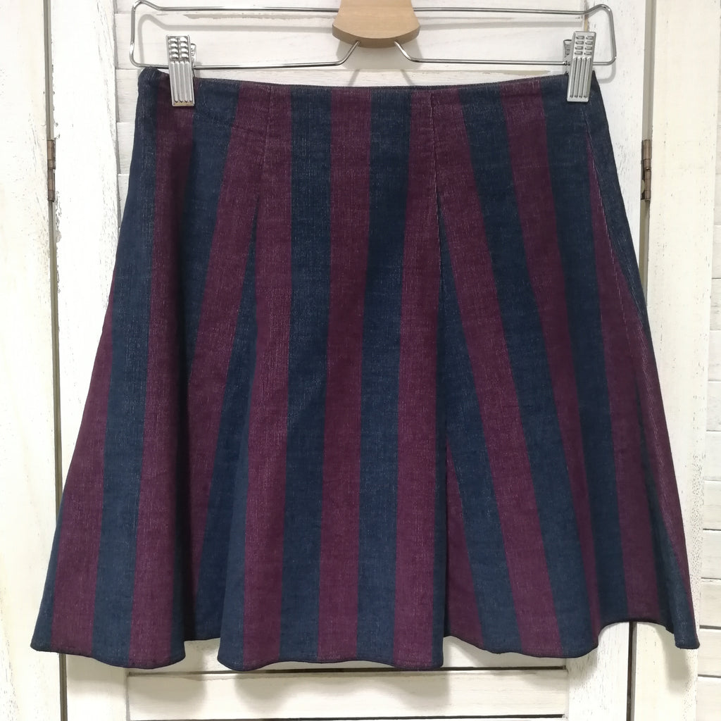Max & Co. Corduroy striped skirt