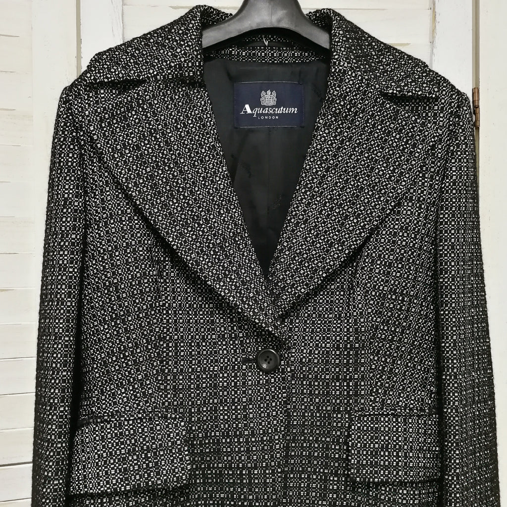 Aquascutum tweed jacket