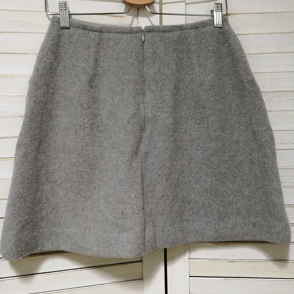 Ray Beams winter A-line skirt