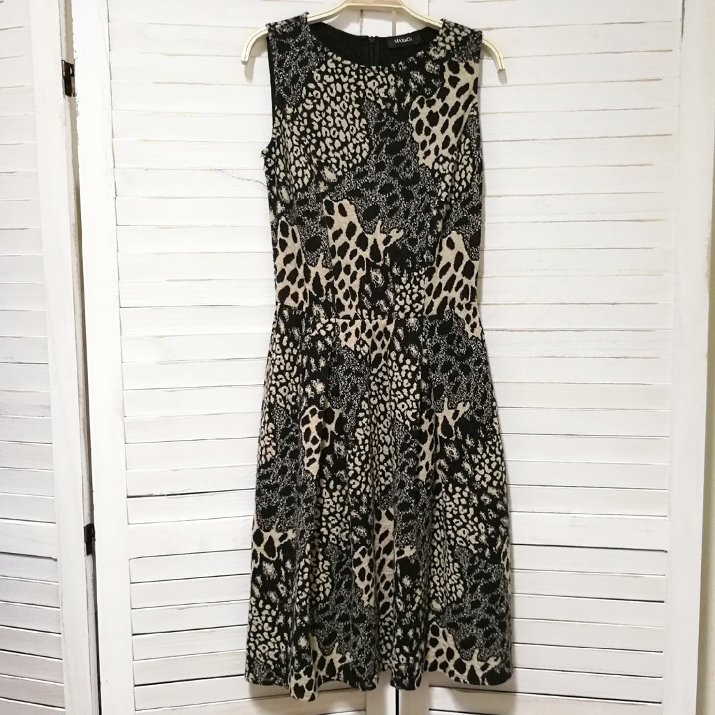 Max & Co. leopard sleeveless dress