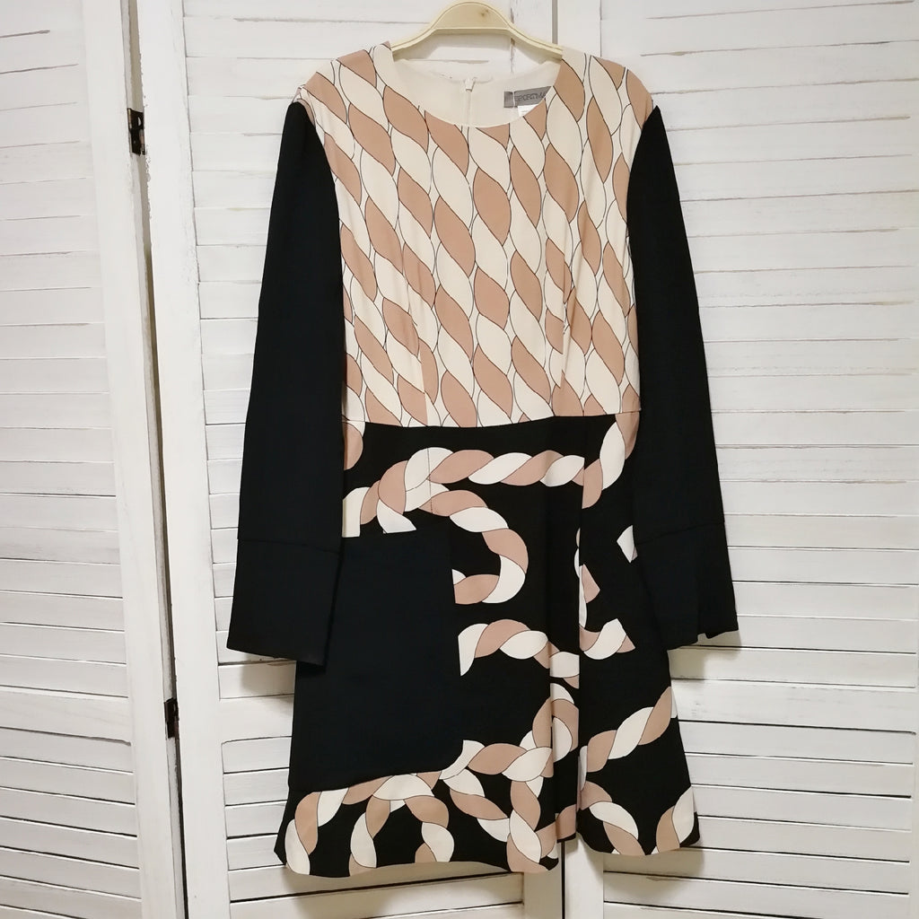 Sportmax rope pattern dress