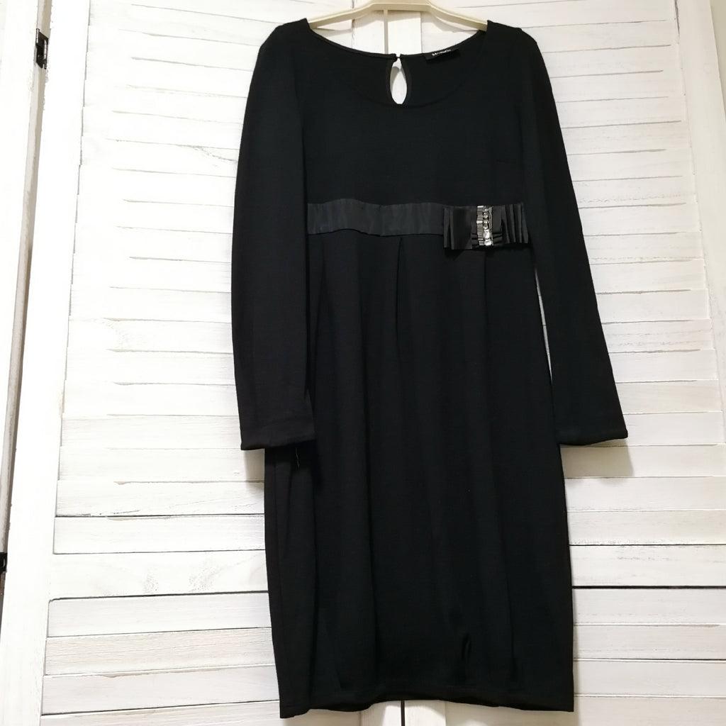 Max & Co. black dress with waist details