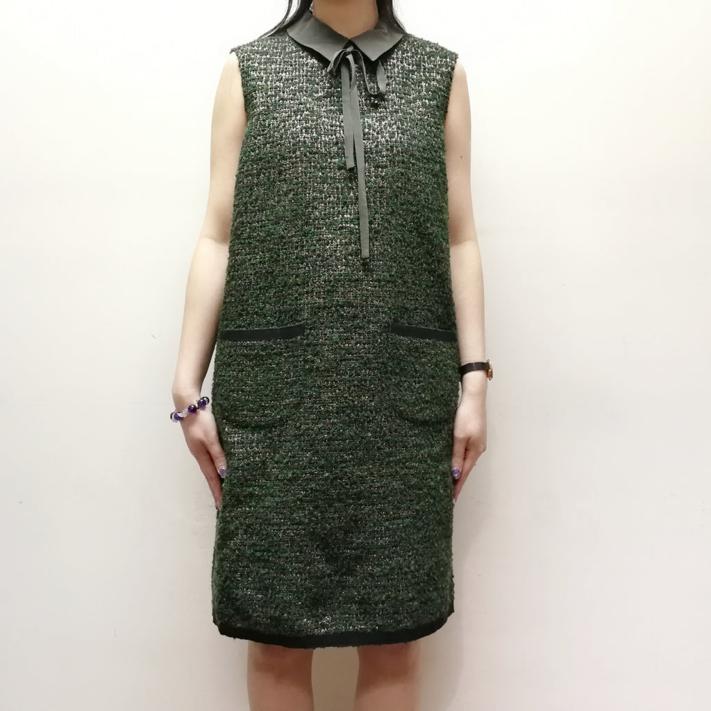 Max & Co. sleeveless tweed dress