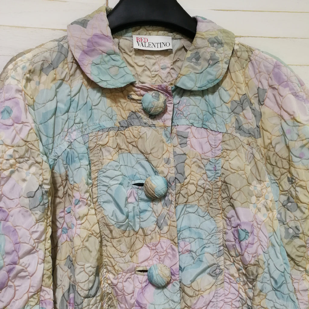 Red Valentino floral print jacket