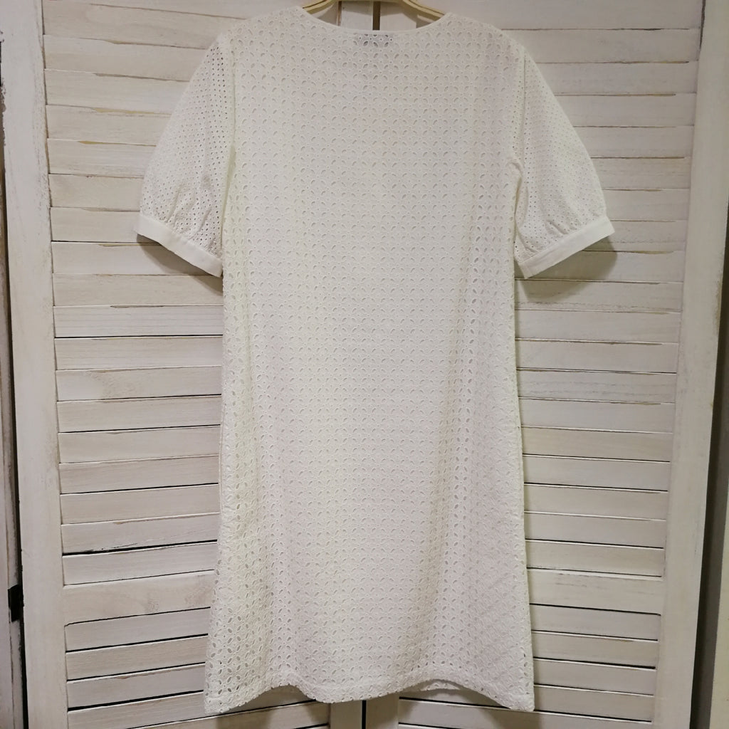Max & Co. cotton eyelet dress
