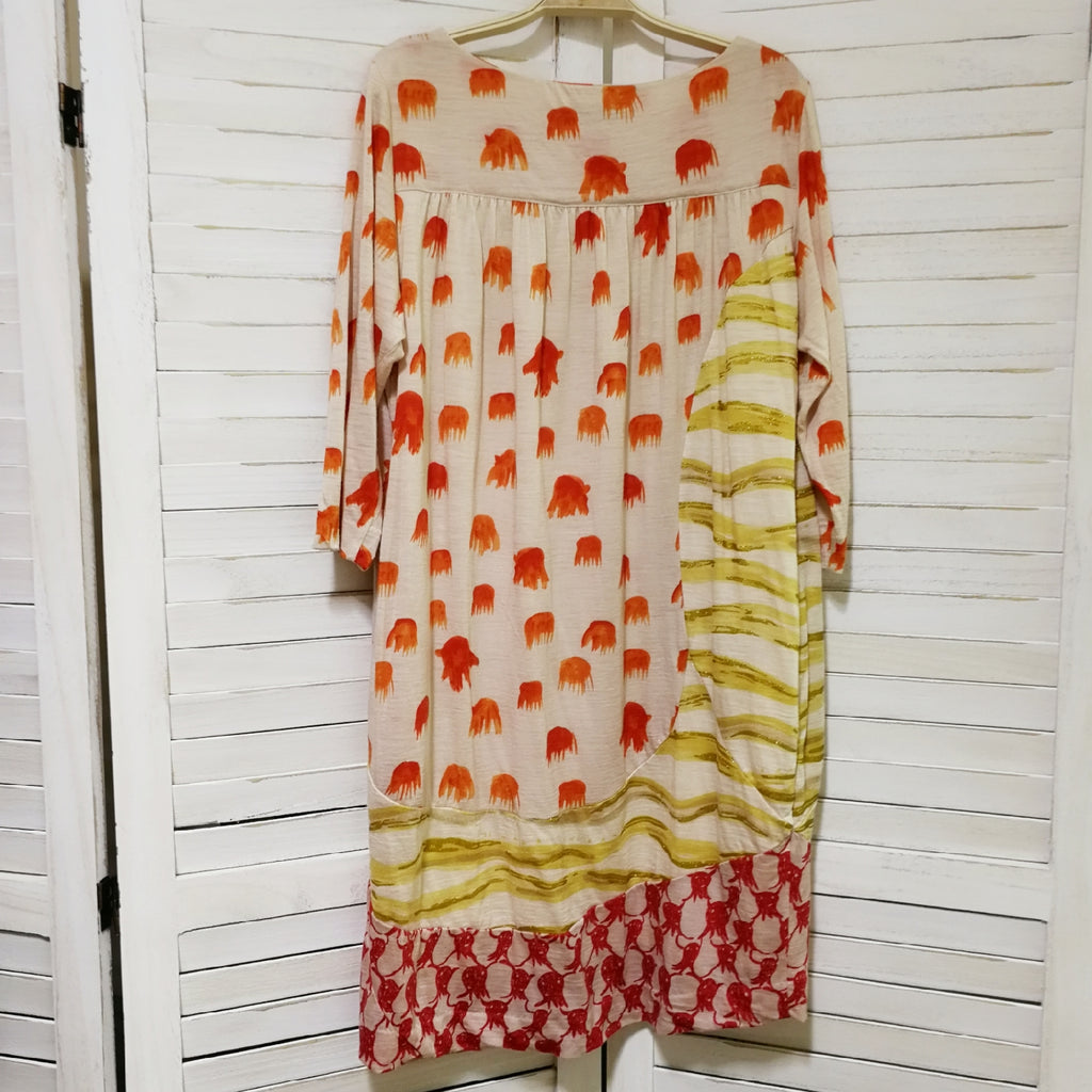 Tsumori Chisato watercolour print dress