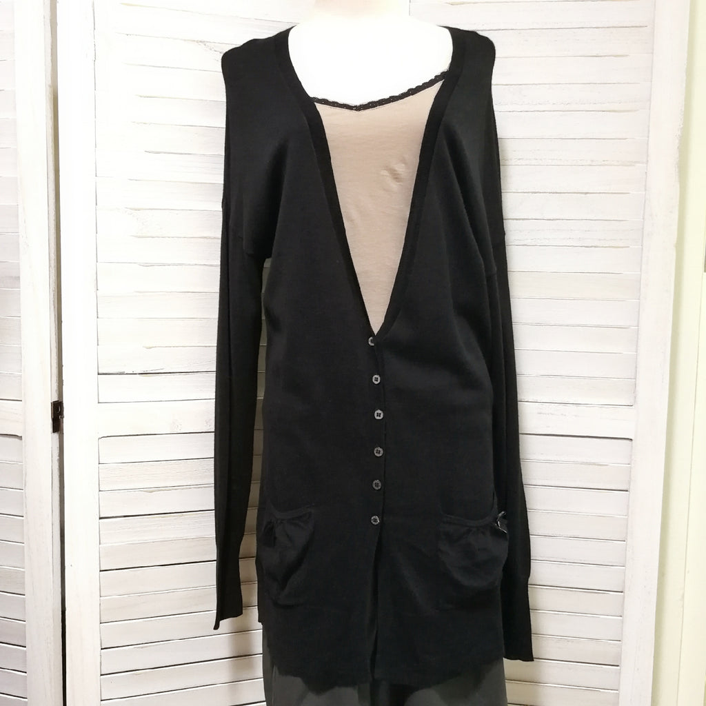 Pinko plain colour cardigan