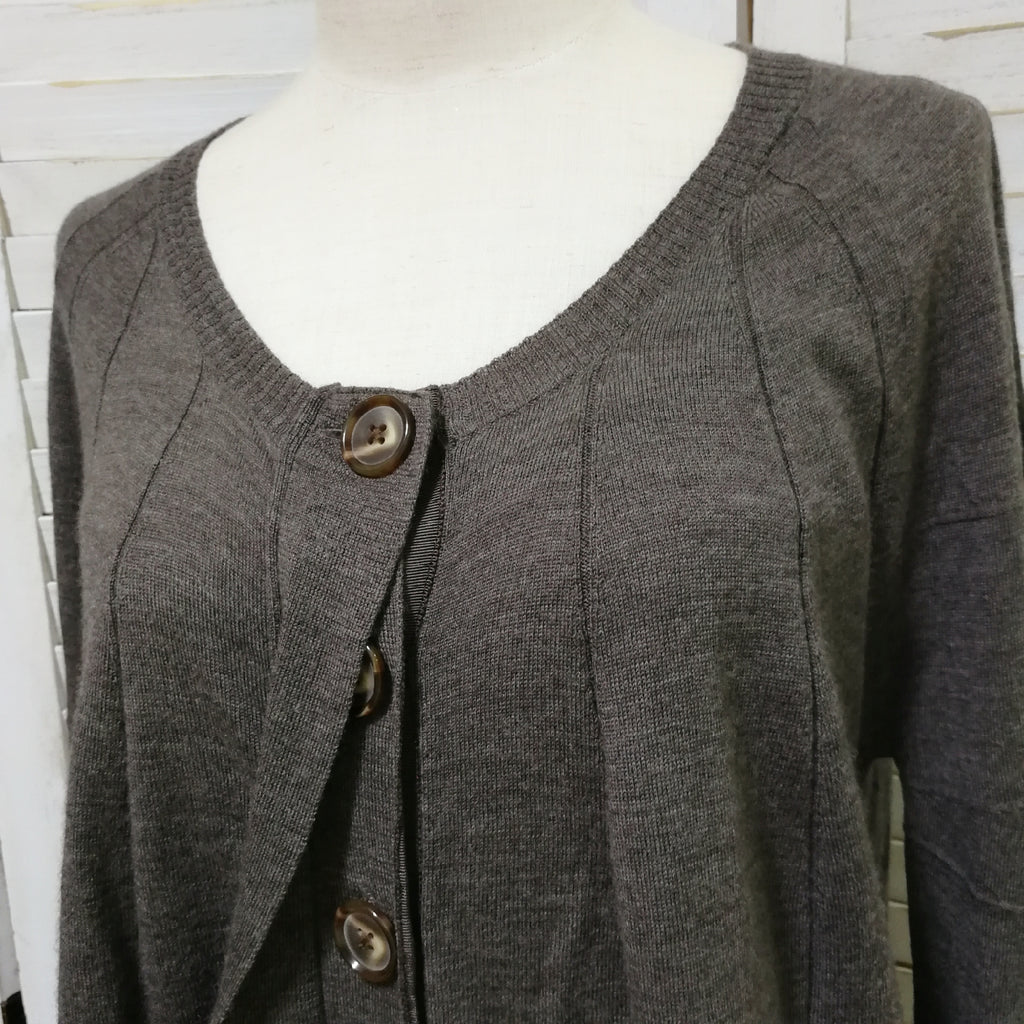 A.T loose fit cardigan