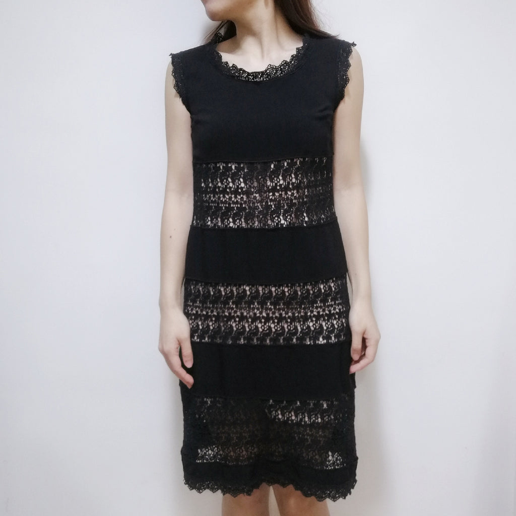 People to People crochet dress