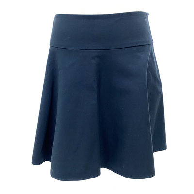 Red Valentino navy cotton skirt
