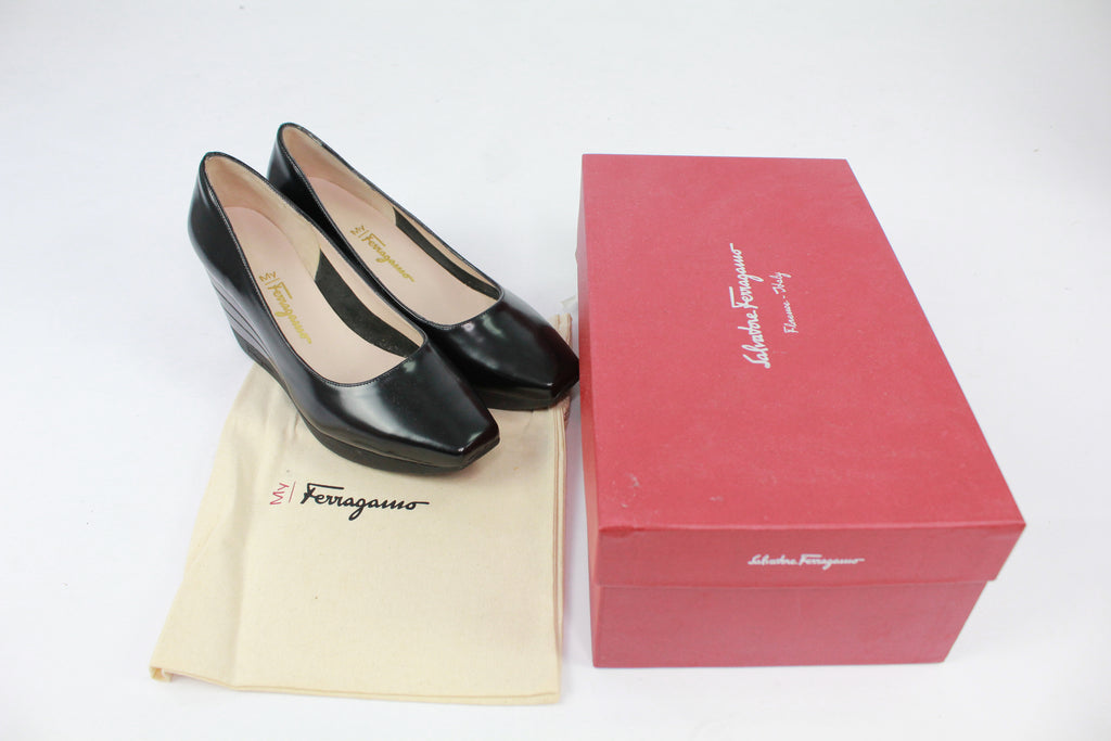 Salvatore Ferragamo heeled platform shoes