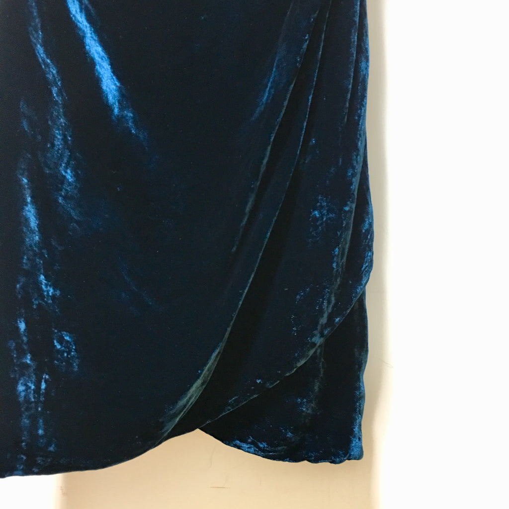 Karen Millen velvet bodycon dress