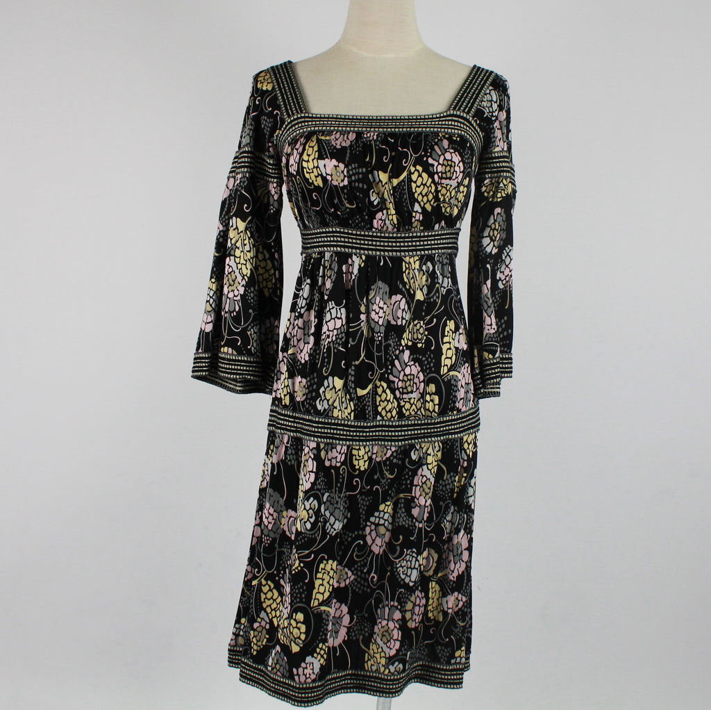 Missoni bell sleeve floral dress