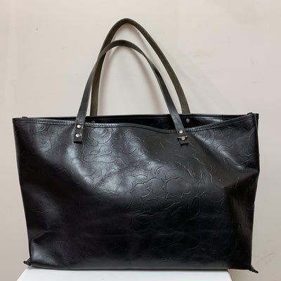A Bathing Ape x Jam Home Made Leather Tote Bag