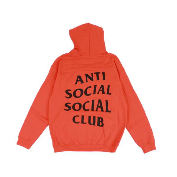 Anti Social Social Club hoodie (Orange Color)