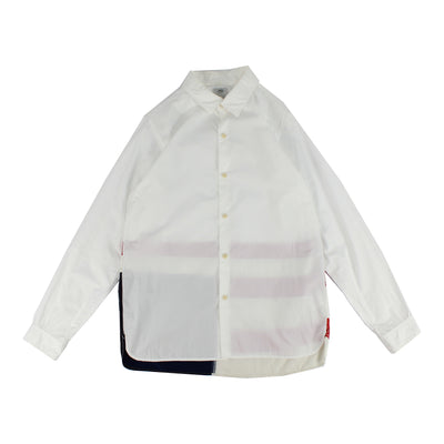 Visvim Shirt (WHITE/ RED/ BLUE)