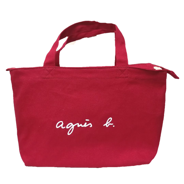 Agnes b cotton bag
