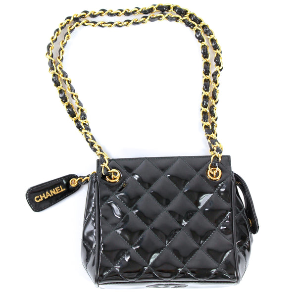 Chanel vintage chain shoulder bag