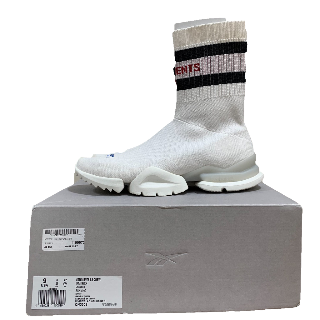 Vetements X Reebok socks sneaker