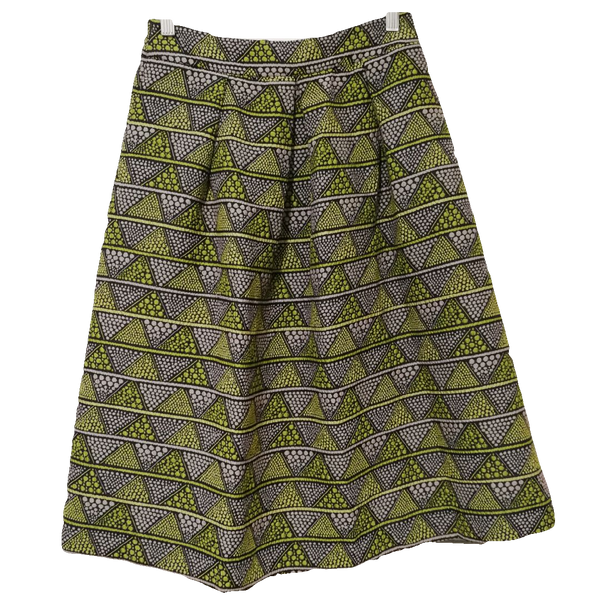 Max & Co. patterned midi skirt