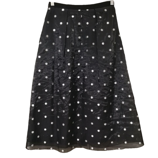 Max Mara Weekend dotted midi skirt