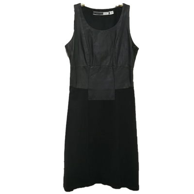 Sportmax Code two-tone black dress