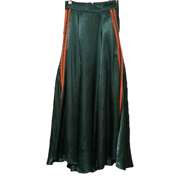 Snidel sports striped maxi skirt