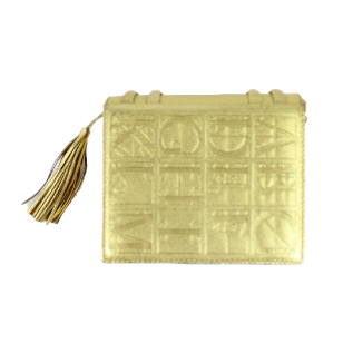 Paloma Picasso mini box bag with tassel