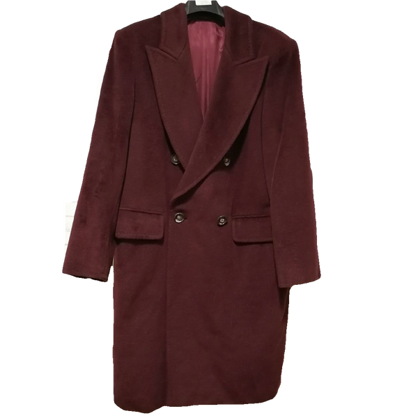 Max Mara double-breasted overcoat