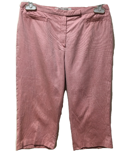 Miu Miu 3/4 length pants