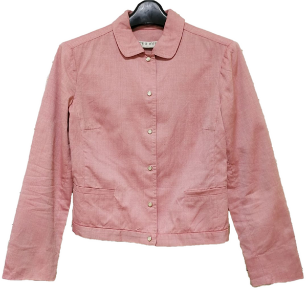 Miu Miu press button jacket