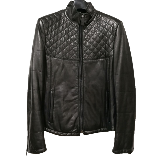 Aquascutum leather jacket