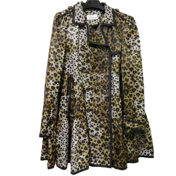 Red Valentino leopard jacket