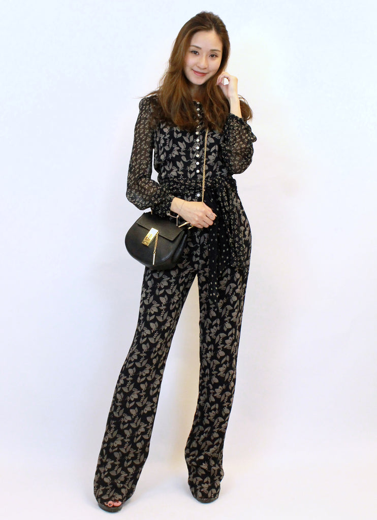 Isabel Marant silk jumpsuit