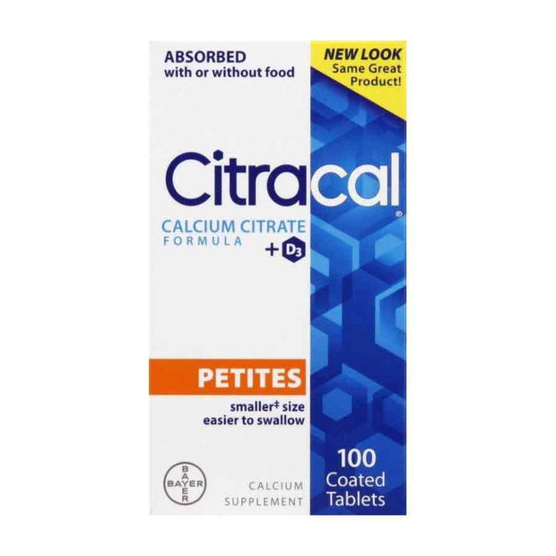 Citracal Calcium Citrate Petites + Vitamin D Tablets