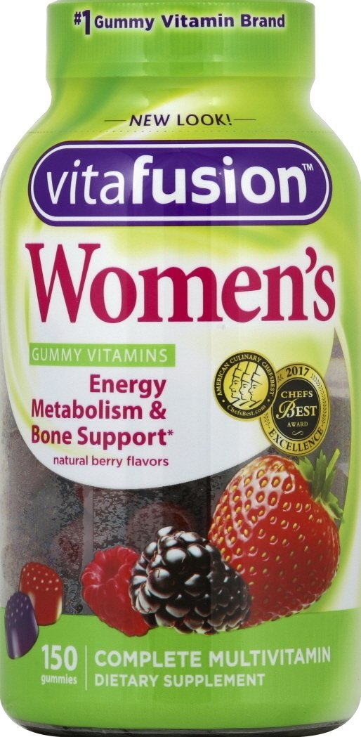 Vitafusion Women's Multivitamin Gummies Berry 150 ct