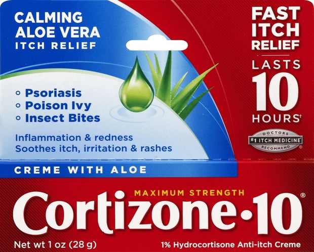 Cortizone-10 1% Hydrocortisone Anti-Itch Creme