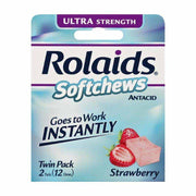 Rolaids Antacid Ultra Strength Strawberry Cream Softchews