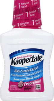 Kaopectate Multi-Symptom Relief Peppermint Liquid 8 oz
