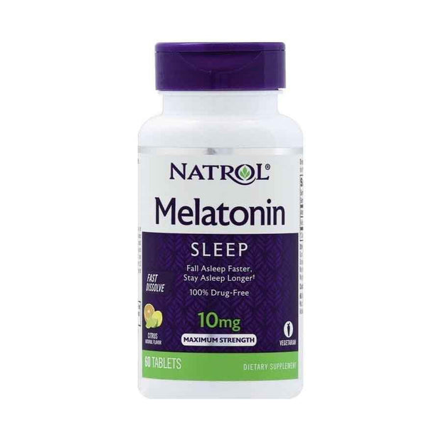 Natrol Melatonin 10mg Fast Dissolve Cherry Tablets