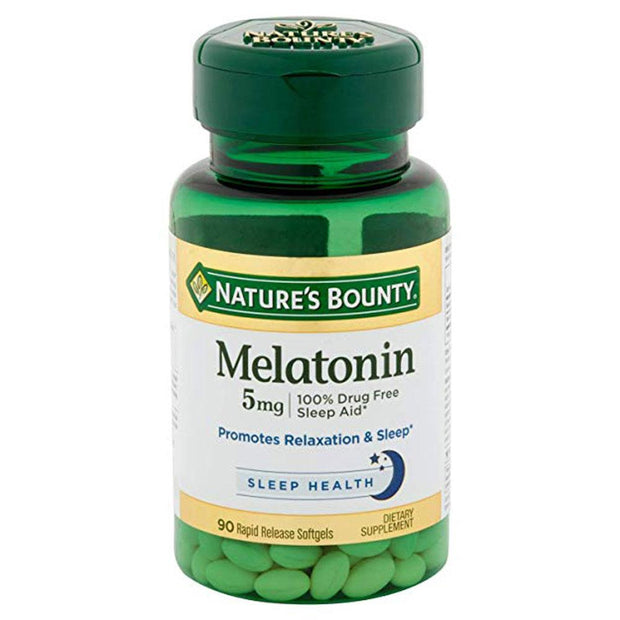 Nature's Bounty Melatonin 5mg Softgels