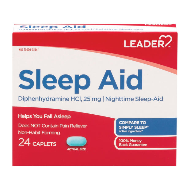 LEADER Sleep Aid Caplets