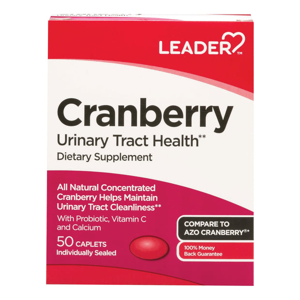 LEADER Urinary Tract Health Cranberry Caplets