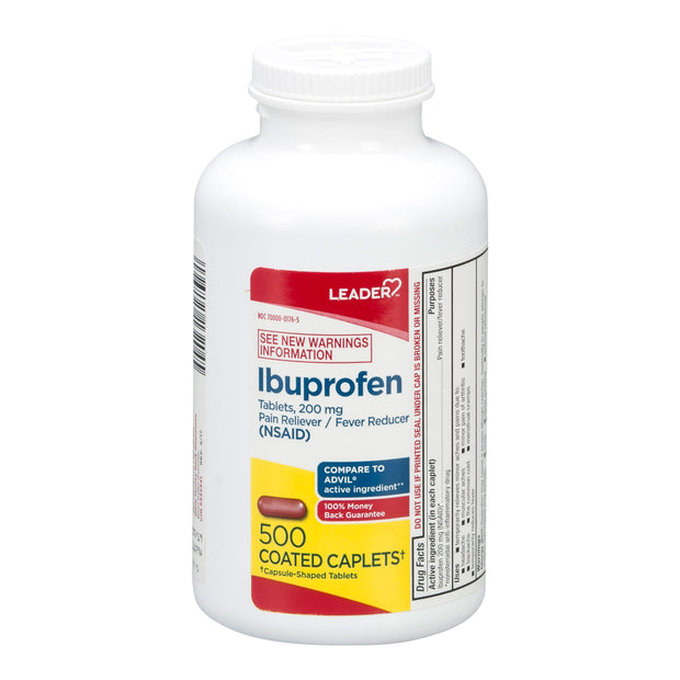 LEADER Ibuprofen 200mg Coated Tablets