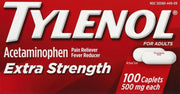 Tylenol Extra Strength Pain Reliever/Fever Reducer 500mg Caplets