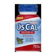 Os-Cal Calcium Supplement 500+D Tablets