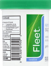 Fleet Glycerin Suppositories for Adults