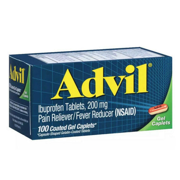 Advil 200mg Gel Caplets