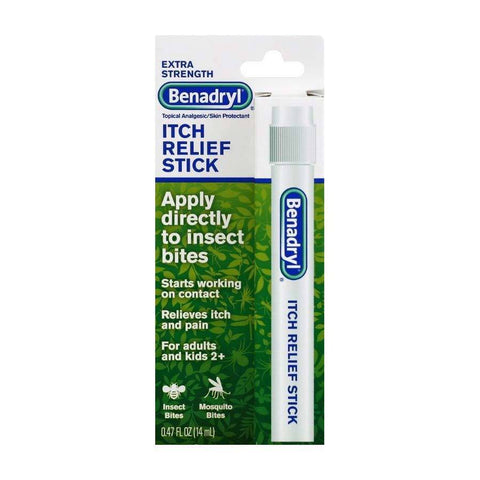 Benadryl Itch Relief Extra Strength Stick