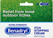 Benadryl Itch Stopping Extra Strength Cream 1 oz